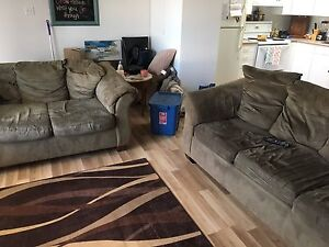 Couch and love seat - must pick up