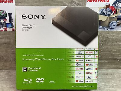 ✅ Sony Blu-ray Disc Player, Wired w/ 1080p Playback, Dolby TrueHD - BDP-S1700