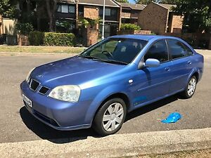 REGO! COLD AIR! 148,000 KMS! 2004 Daewoo Lacetti Sedan Five Dock Canada Bay Area Preview