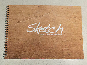 A4 Art Artist Sketch Book Sketch Pad Paper Drawing Painting 50 sheet