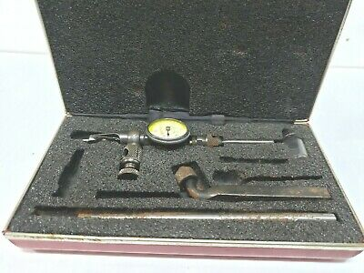 Starrett No 711 Last Word Dial Indicator W Case Box Fc18-2-k