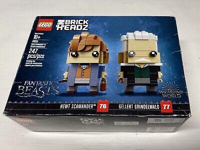Fantastic Beasts Brick Headz Newt Scamander & Gellert Grindelwand Set #41631