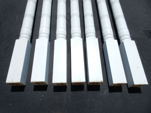 """7  Load Bearing Wooden Porch Columns 5-1/4"""" x 103-3/4 (Local Pickup Only)"""
