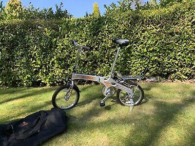 EZ-FOLD SUMMIT Bike with carry bag