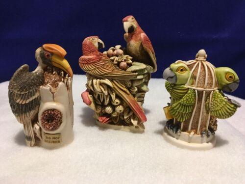 Harmony Kingdom Pieces Of Eight Macaw, Great Escape, Flight Of Fancy