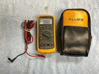 Lota1 Fluke 787 Processmeter W Genuine Leads And Case