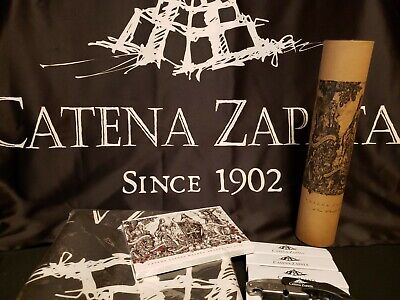 LOT/8 Catena Zapata Wine Accessories Postcards Banners Bottle Openers Poster