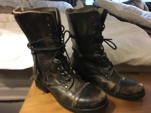 Genuine  Leather Boots - Size 6.5