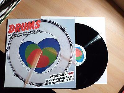 """12"""" LP Foc - Drums - Berühmtesten Schlagzeugsoli - Prent 400 - Werbe"""