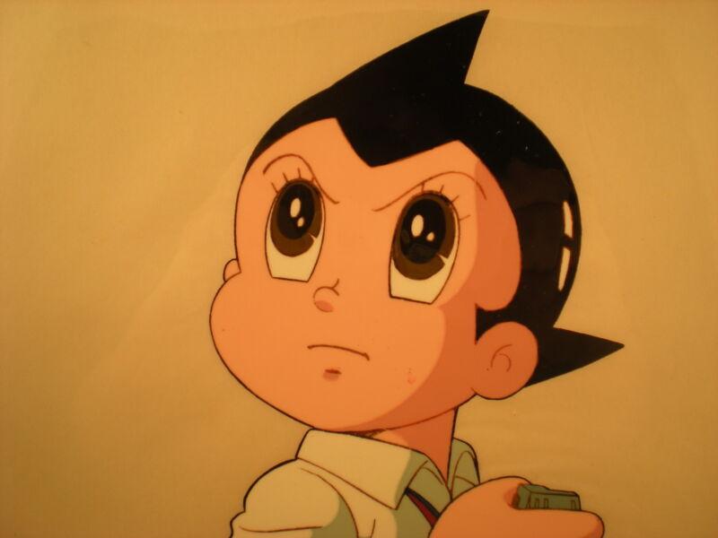 ASTRO BOY - Tetsuwan MIGHTY ATOM - ASTROBOY Cel - Original TV Production Art