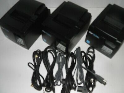 Star Tsp100iii Thermal Pos Receipt Printer Tsp143iiiu W Power Cord Usb Cable
