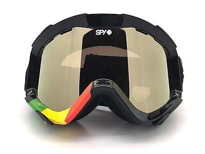 e2fb474b16 SPY+ Optic ZED Snow Goggle LION Red Yellow Green Frame Bronze-Gold Mirror  Lens
