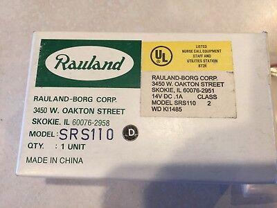 Rauland Responder Srs110 Staff Register Nurse Call Station Nos