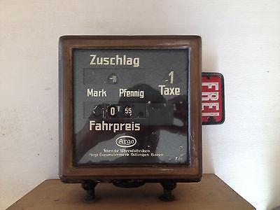 historical german taximeter (1920) - historischer Taxameter (1920) Kienzle