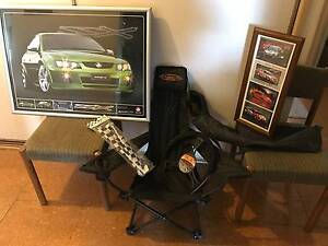 V8 SUPERCARS PACKAGE-CHAIR, PICTURE, STEERING WHEEL COVER, FLAGS Regency Downs Lockyer Valley Preview