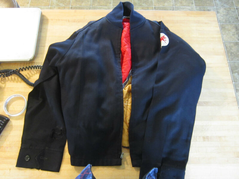Vintage gas mechanic jacket, uniform, pegasus patch original 50