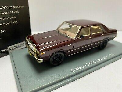 1/43 NEO SCALE MODELS 44497 NISSAN DATSUN 200L LAUREL C230 BROWN model car