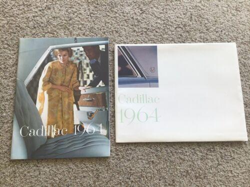 1964  Cadillac original dealership showroom deluxe color sales catalogue.
