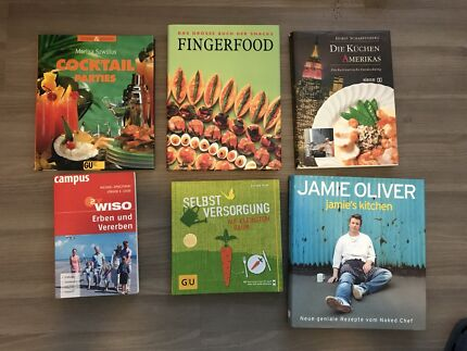 Cook Books (various, German)
