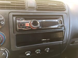 JVC CD deck w/ auxiliary port and blue tooth dongle