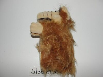 "Vintage Large Alf Clip On Hugger Plush 6"" Tall 1980s Alien Life Form TV Series"