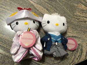 Hello Kitty Japanese Wedding Doll Set Cute