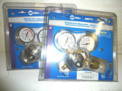 Miller Smith Med Duty Regulators Single Stage Oxygen And Acetylene Torch Guages