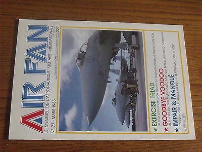 $$v Revue Air Fan N°77 base de Creil  McDonnell CF-101  F7U Cutlass  X-29