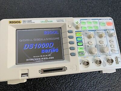 Rigol Ds1102d 2ch 16ch Logic Analyzer Capable 100mhz 1gsas Oscilloscope Scope