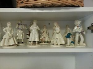 10 Collectible Meindel Pottery Figurines