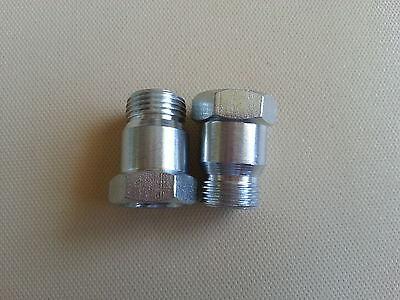 O2 oxygen sensor extension extender adapter spacer M18X1.5  (2) Bung 02