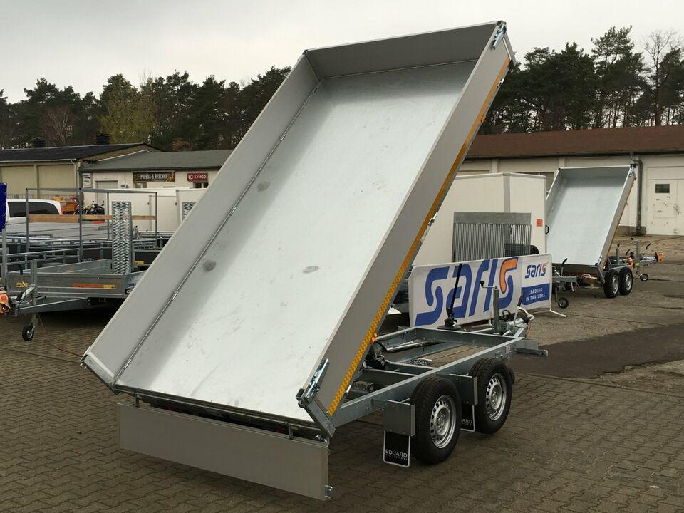⭐ Anhänger Eduard Kipper 3-Seiten 2700kg 311x160x30cm Profi 72 in Schöneiche bei Berlin