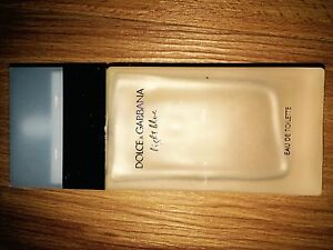 "DOLCE & GABBANNA ""Light blue"" perfume."