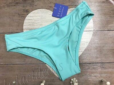 NEW Women's Beach by Melissa Odabash Bikini Swim Bottom Blue sky Size Medium