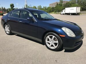 INFINITY G35 2003 ( !! IMPECCABLE, AUCUNE TAX !! )