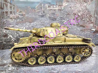 Imex Taigen 1/16th RC Tank Panzer III Airsoft FREE US SHIP (LR48)