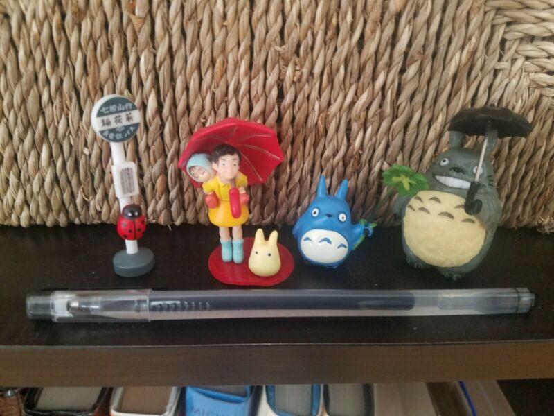 4pcs/Set Studio Ghibli My Neighbour Totoro Resin Figure Figurine Toy Gift
