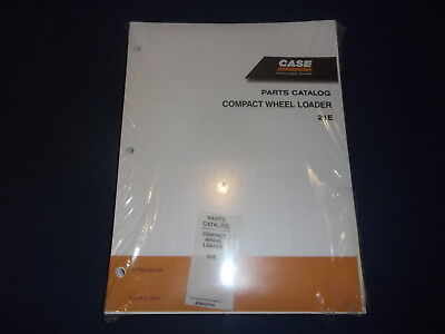 Case 21e Compact Wheel Loader Parts Book Manual New