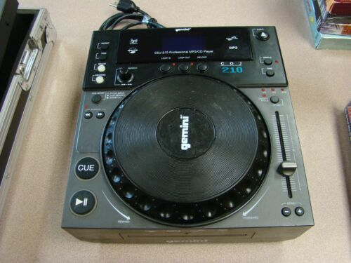 GEMINI CDJ-210 PROFESSIONAL MPS/CD PLAYER
