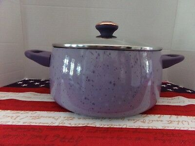 Quart Stock Pot Cover - PAULA DEEN PAN~6 QUART COVERED STOCK POT ~