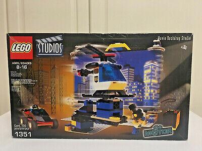 LEGO Studios 1351 Movie Backdrop Studio Motorized New