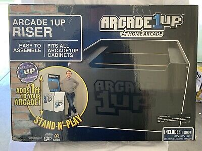 Arcade 1Up Riser Only ~ At Home Arcade Video Game Machine Cabinet NEW