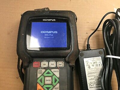 Olympus Panametrics 38dl Plus Ultrasonic Thickness Gage With Accessories