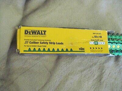 Dewalt Safety Strip Loads For Dewalt Model P3500 Green Power Level 3