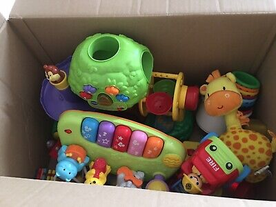 Bundle Of Baby Toys Including Vtech Apple Tree