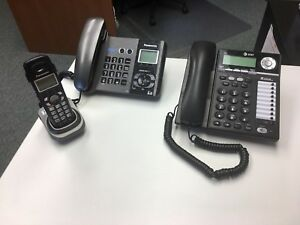 Panasonic 2-line office phones