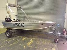 BLUEFIN TINNY 3.4M with 15hp Suzuki motor & Trailer Burleigh Waters Gold Coast South Preview