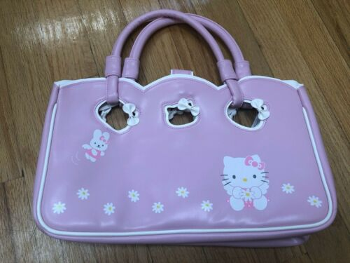 New Sanrio Angel Flower Hello Kitty Bag Pink White