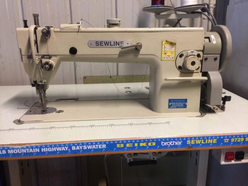 Industrial Sewline NX40 Walking Foot Sewing Machine Sewing Impressive Sewline Walking Foot Sewing Machine