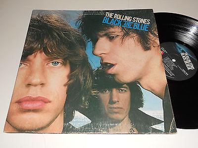 The Rolling Stones VG Schwarz und Blau Coc-79104 Mick Jagge Keith Richards Album